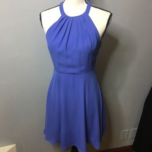 Express purple halter dress. Size Small.